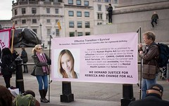 Justice for Rebecca - Image credit Khushbu Hussain