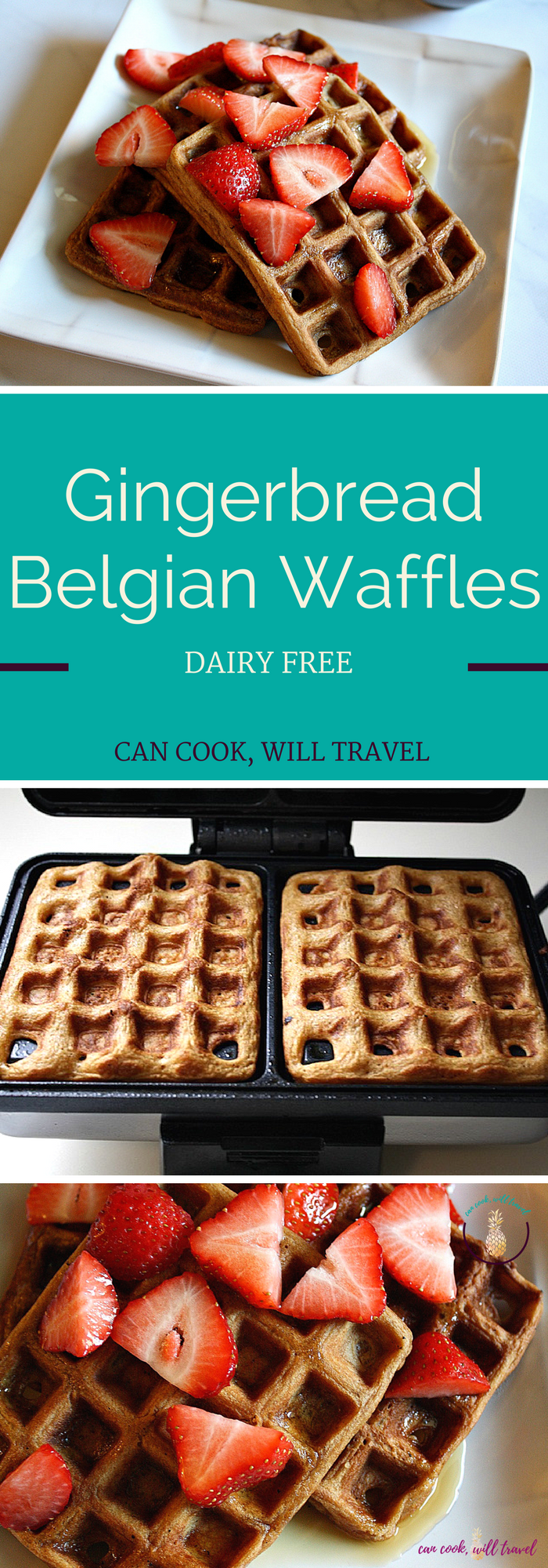Gingerbread Belgian Waffles_Collage2