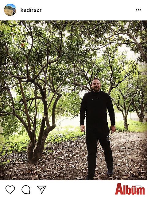 Kadir Sezer, doğa ile iç içe harika bir hafta sonu geçirdi.