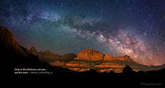 "Milky Way over Zions by IronRodArt - Royce Bair (""Star Shooter"")"
