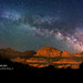 "Milky Way over Zions by IronRodArt - Royce Bair (""Star Shooter"")"