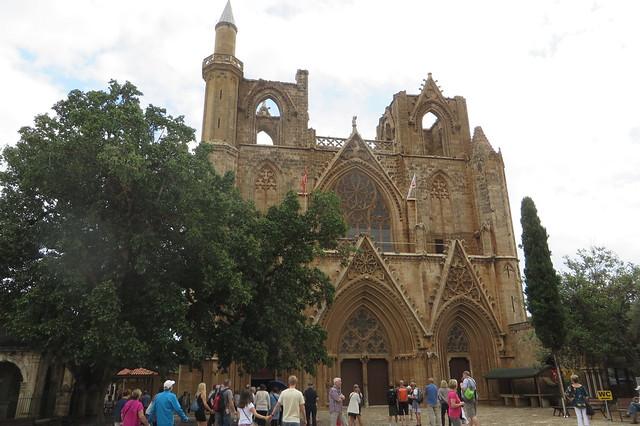 Mosquée Lala Mustafa Paşa. Cathédrale Saint-Nicolas