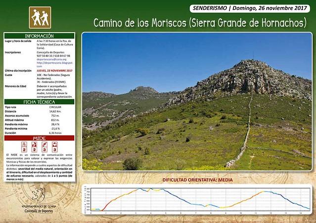 Abierto el plazo para la ruta de senderismo del mes de noviembre