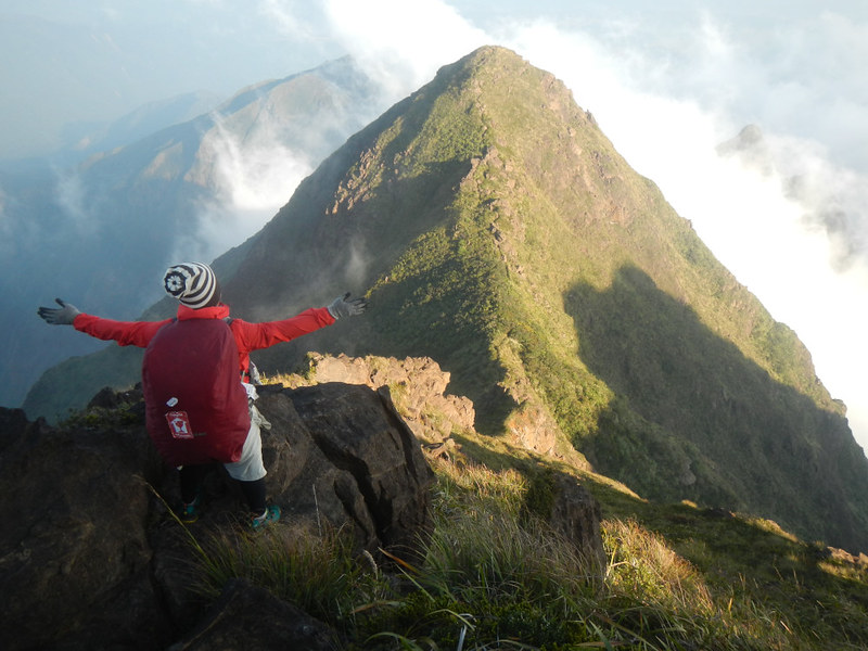 Mt Guiting-guiting Summit