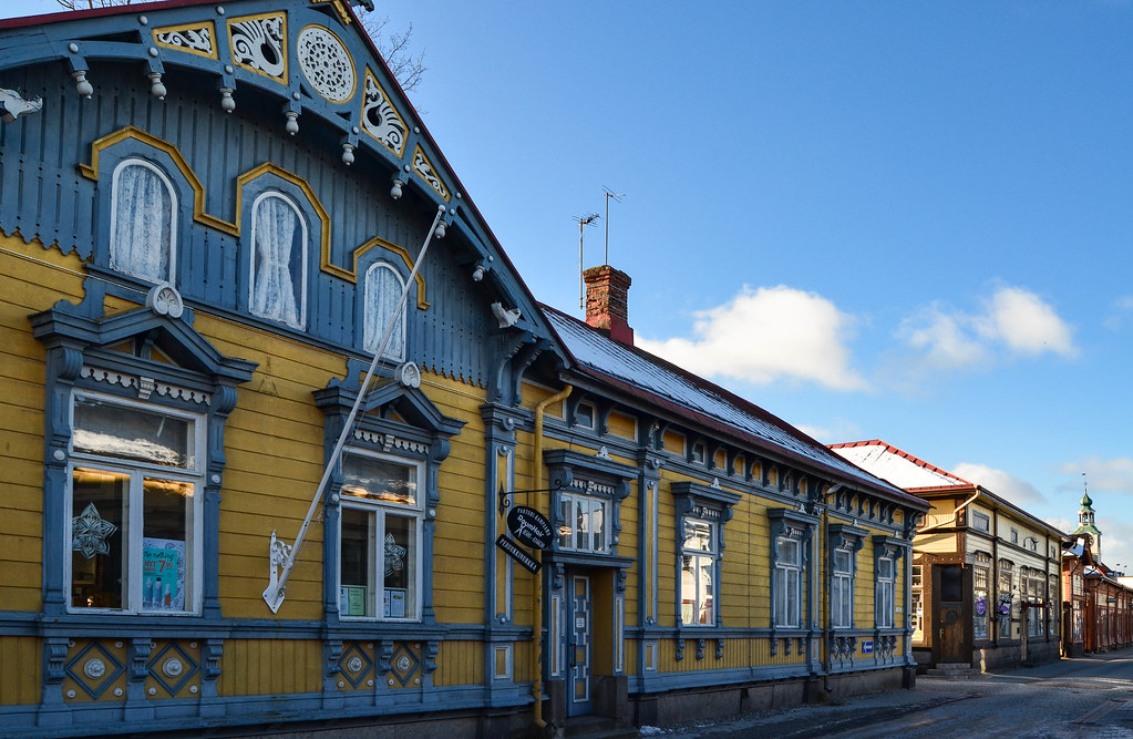 Walking Old Rauma: is this the most beautiful wooden building in Rauma?