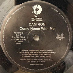 CAM'RON:COME HOME WITH ME(LABEL SIDE-C)