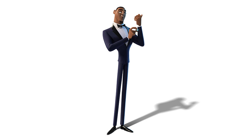 WILL SMITH voices Lance Sterling in SPIES IN DISGUISE