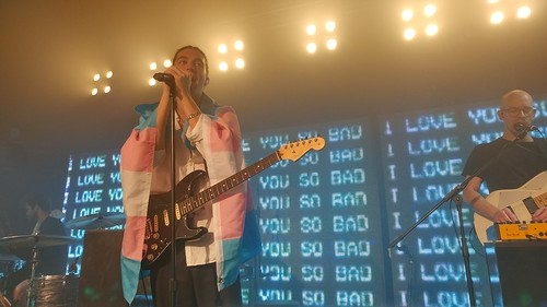 LANY performs at Union Hall in Edmonton, Alberta on Nov 11, 2017.
