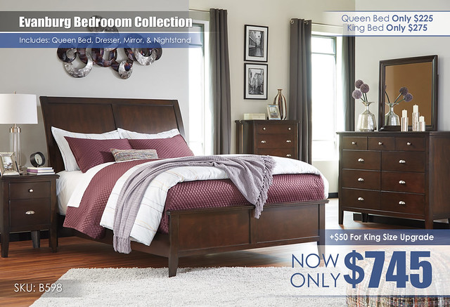 Evanburg Bedroom Collection B598-31-36-46-57-54-92-Q256