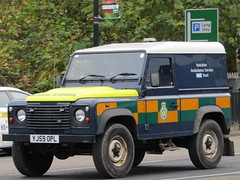 Yorkshire Ambulance Service, Land Rover Ambulance In York