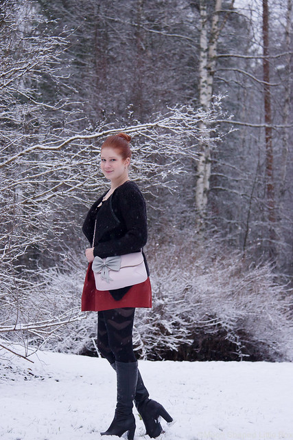 Winter fashion finnish blogger talvinen asu