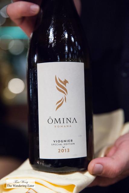 2013 Ômina Romana Viognier Special Edition