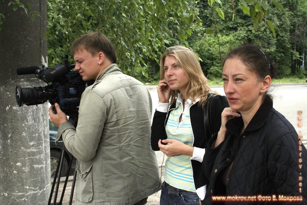 На съемках док. фильма «Западня» фотозарисовки