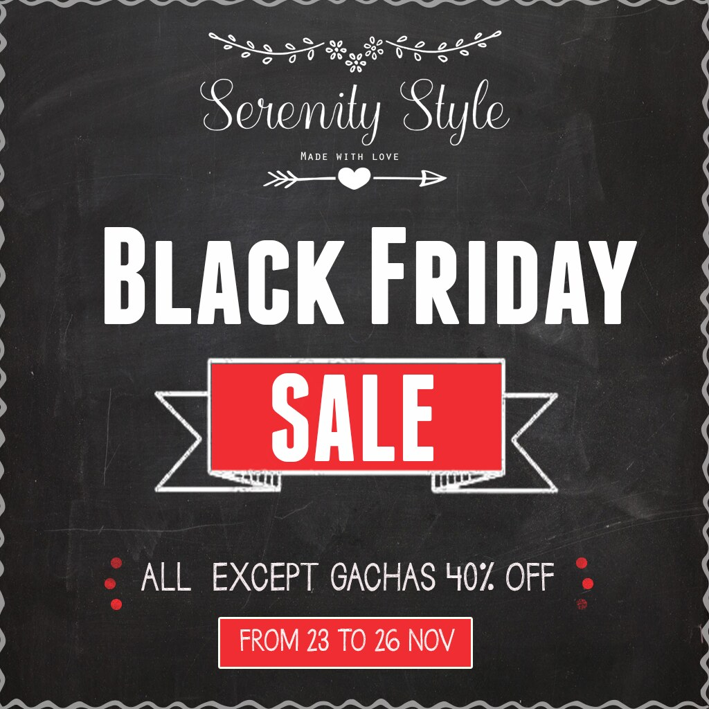 Serenity Style BLACK FRIDAY SALE - TeleportHub.com Live!