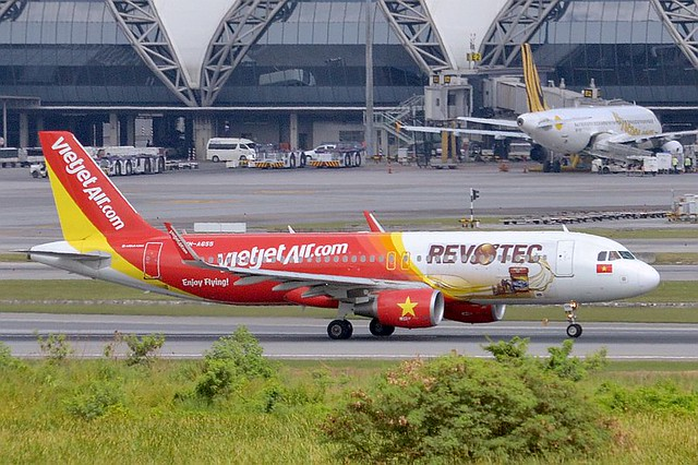 VN-A655 Airbus A320 214 Vietjet Air