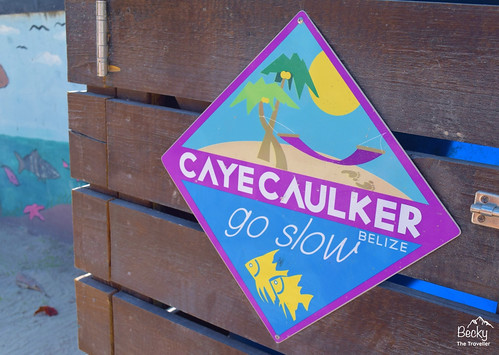Caye Caulker Belize - the Caye Caulker moto is Go Slow!