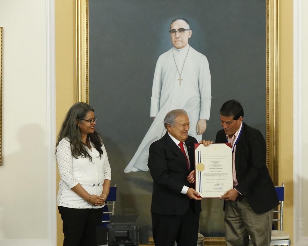 Entrega del Premio Nacional de Cultura 2017.