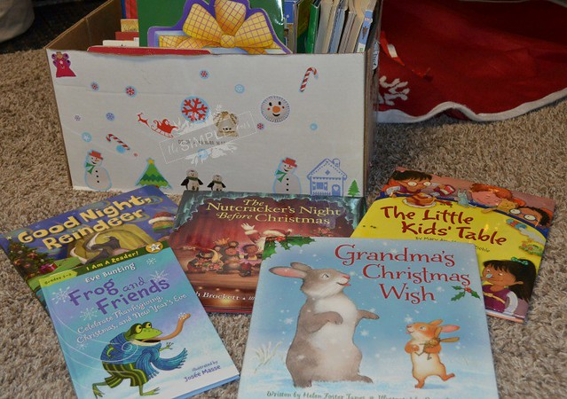 Holiday Books and a Box on The SIMPLE Moms