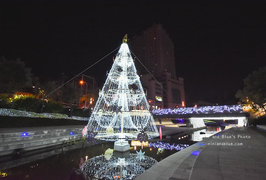 柳川藍帶水岸.聖誕節.台中景點12