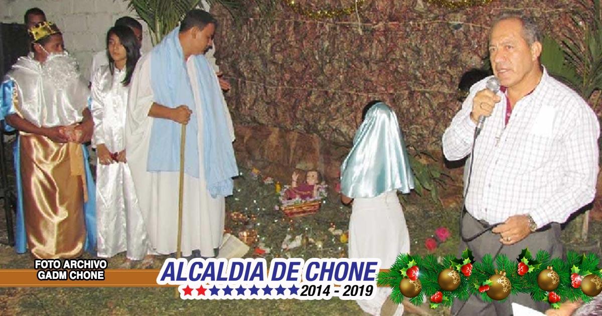 Alcaldía de Chone realizará novena al Niño Jesús