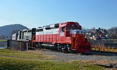 2017 12-03 1225 WMSR GP30-501 CCE Cumberland, MD