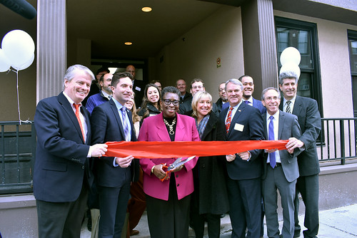 Tribune Apartments Ribbon Cutting