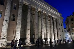 Temple of Hadrian, now the Bourse de Rome