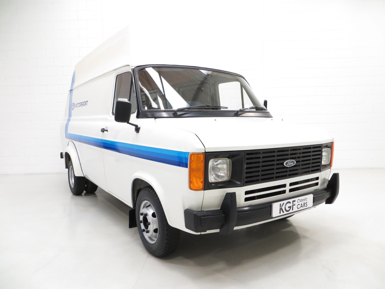 quite possibly the best mk2 ford transit van 190 sold. Black Bedroom Furniture Sets. Home Design Ideas