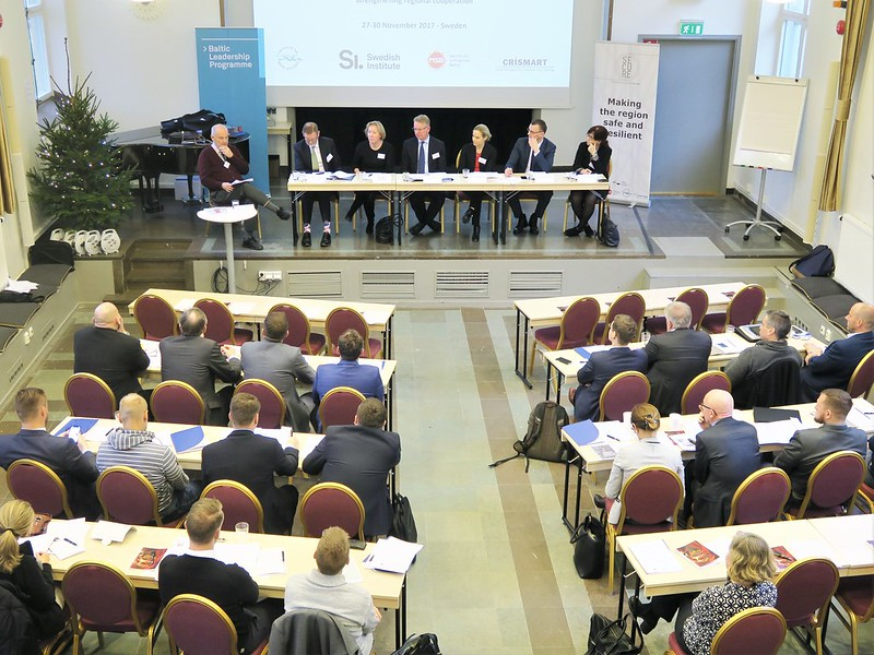 Baltic Leadership Programme in civil security: high level panel