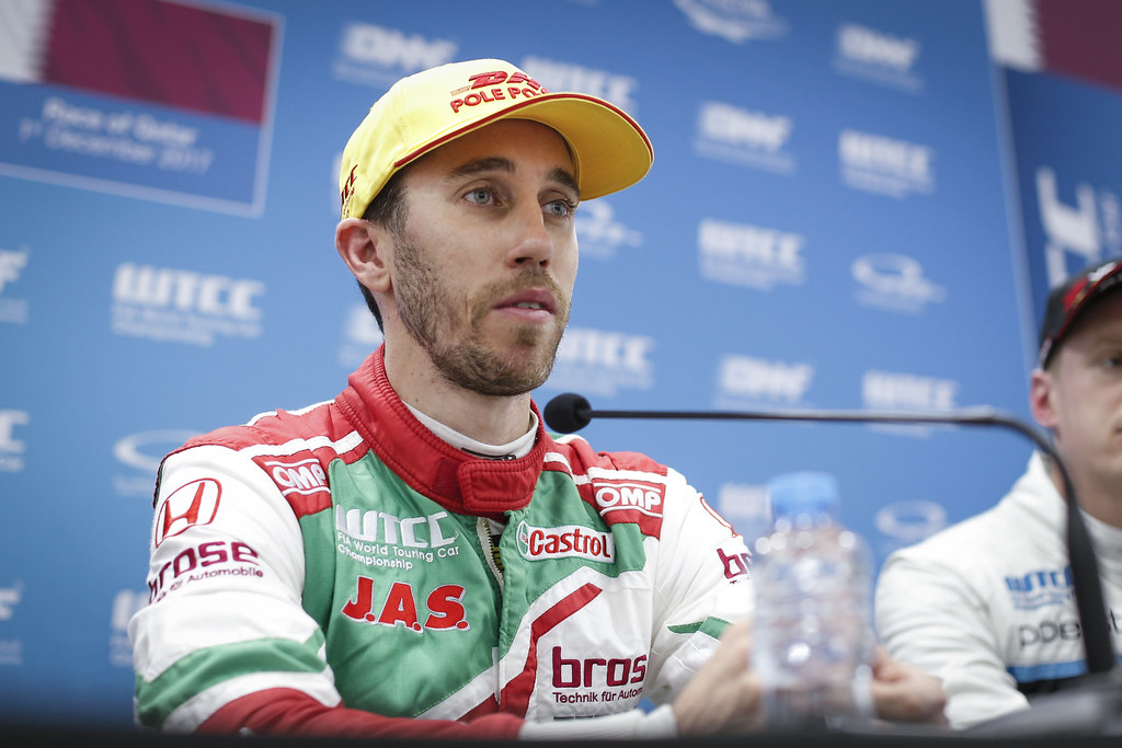 GUERRIERI Esteban, (arg), Honda Civic team Castrol Honda WTC, ambiance portrait during the 2017 FIA WTCC World Touring Car Championship race at Losail  from November 29 to december 01, Qatar - Photo Francois Flamand / DPPI