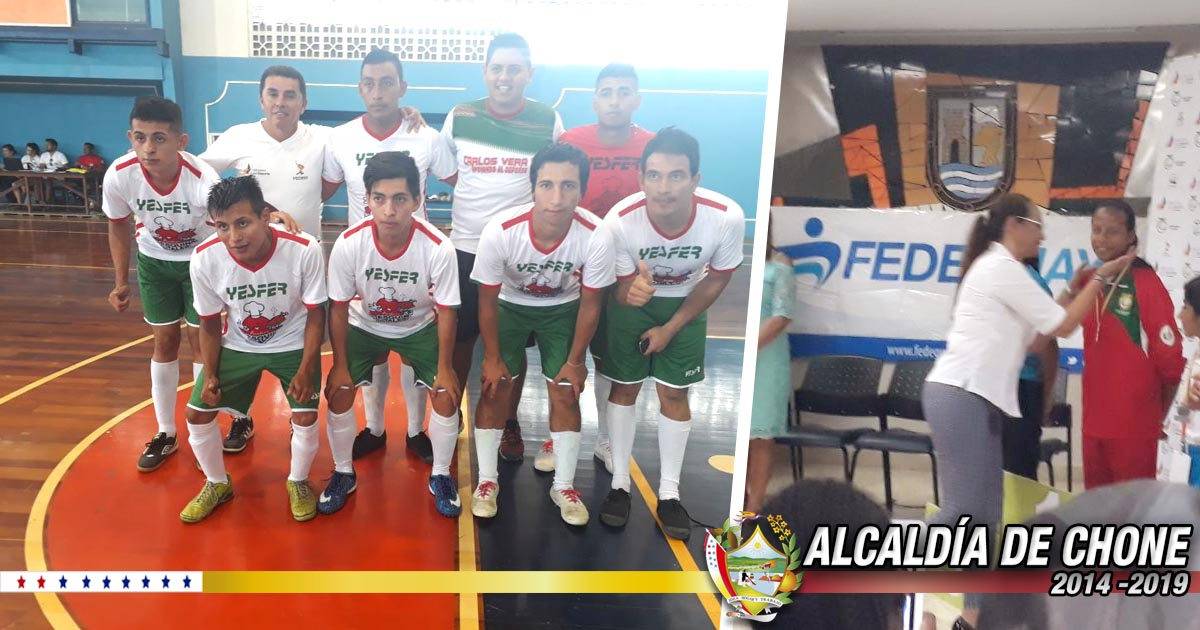 Chonenses campeones en deporte adaptado con la selección de Manabí