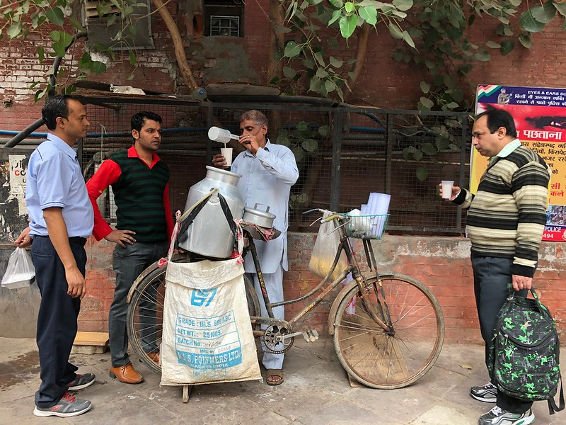 City Food - Suraj Bhan's Butter Milk, Connaught Lane