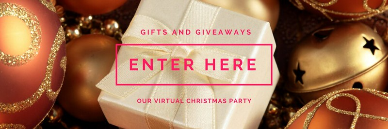 GIFTS AND GIVEAWAYS; JESSICA BRATICH; WIN; COMPETITION; VIRTUAL CHRISTMAS PARTY