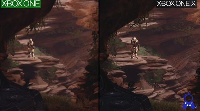 Halo 5 - XBX Draw Distance Comparison