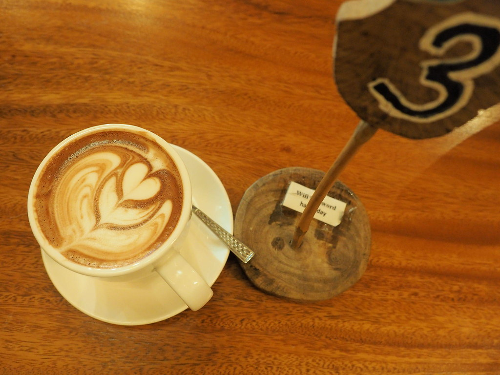 The Happy 8 Cafe's Hot Rich Chocolate
