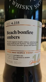 SMWS 4.235 - Beach bonfire embers