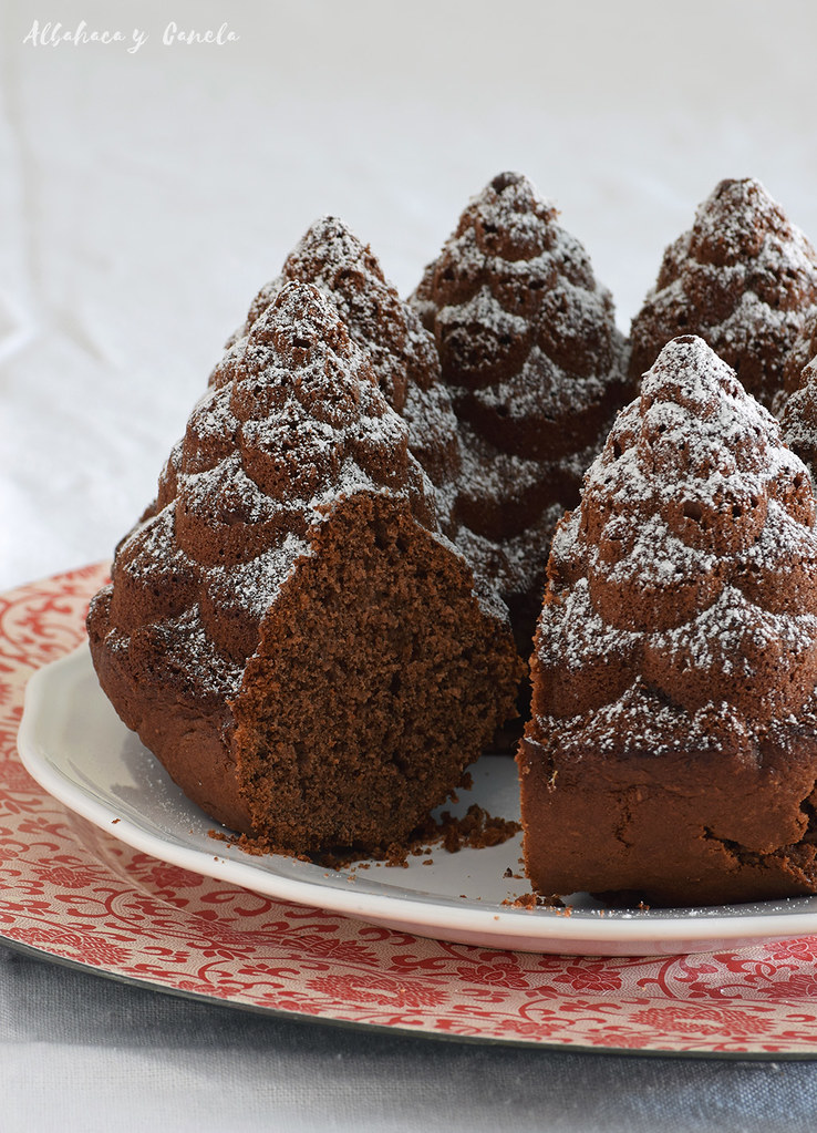 Chocolate spice bundt cake