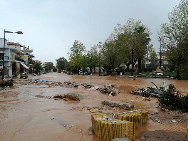 Greece Floods Disaster