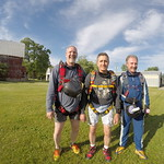Experienced Skydivers Russ, Ramee and Stepan