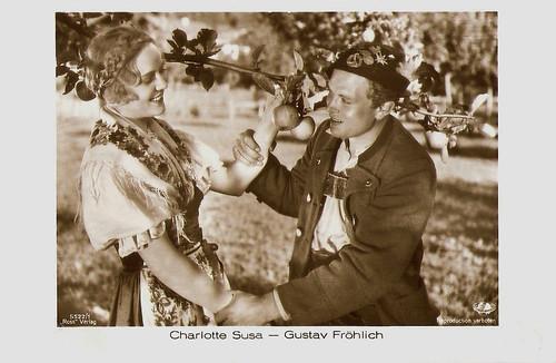Charlotte Susa and Gustav Fröhlich Zwei Menschen (1930)