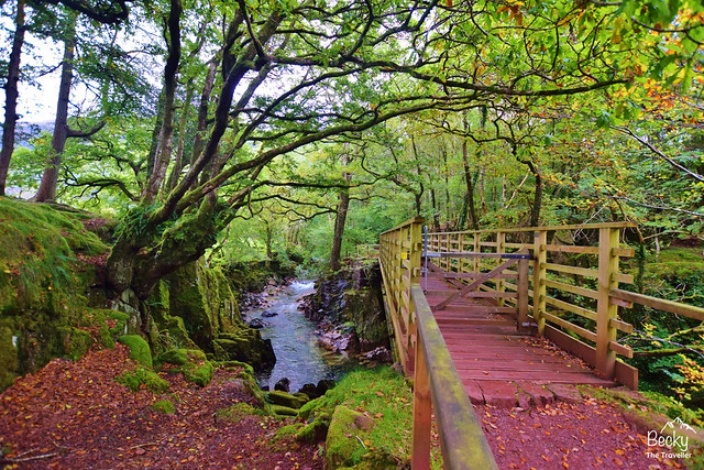 Eskdale walk to Ravenglass - girder Bridge