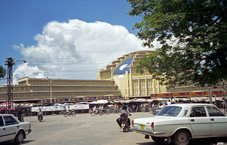Central Market in Phnom Penh - an art-deco masterpiece