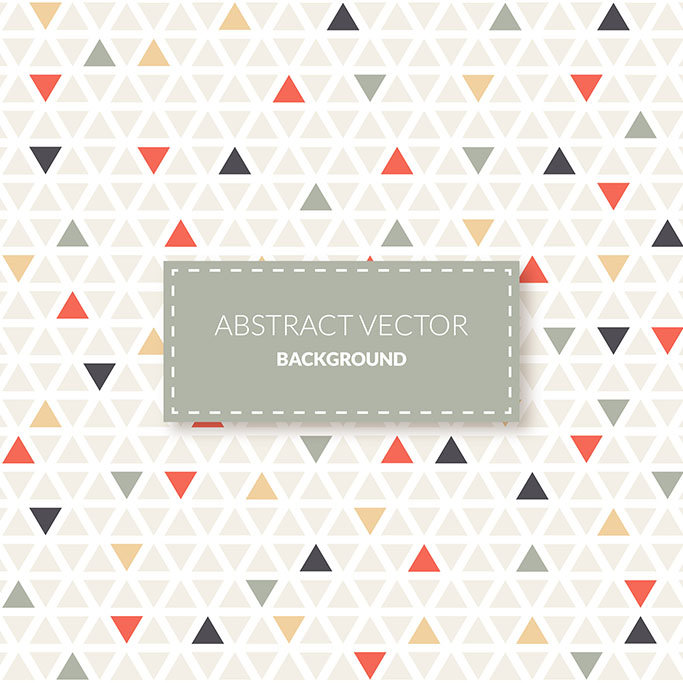 Small triangles pattern background 1