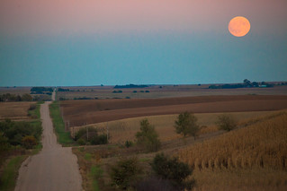 Harvest Moon - Nebraska | by Bradley N. Weber