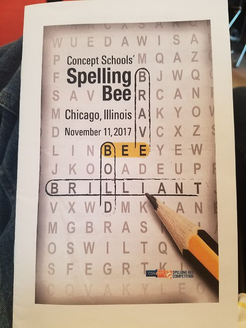 Spelling Bee in Chicago 11.11.17