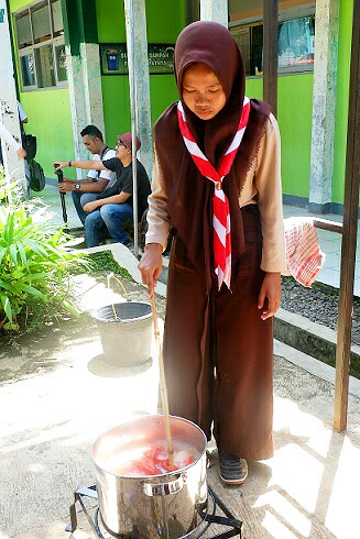 merebus batik