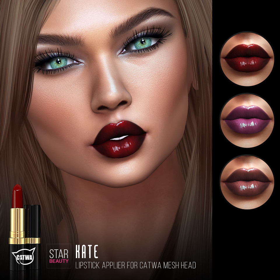 Star Beauty Catwa Lipstick Kate Pack 2