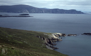 View southwest of Achill Island. June 1979