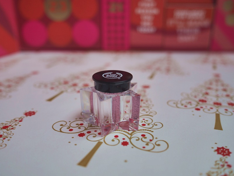 the body shop glitter hile dust pink