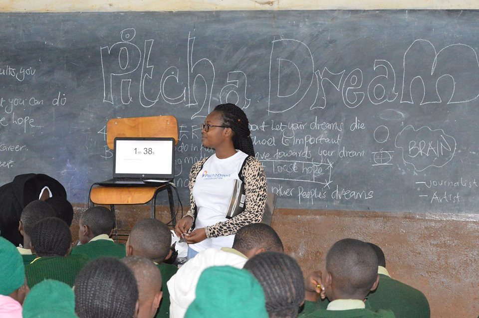 Catherine Miano - Pitch a Dream Workshops for Rural School